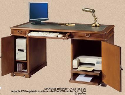 Mesas auxiliares clasicas for Muebles de oficina issa